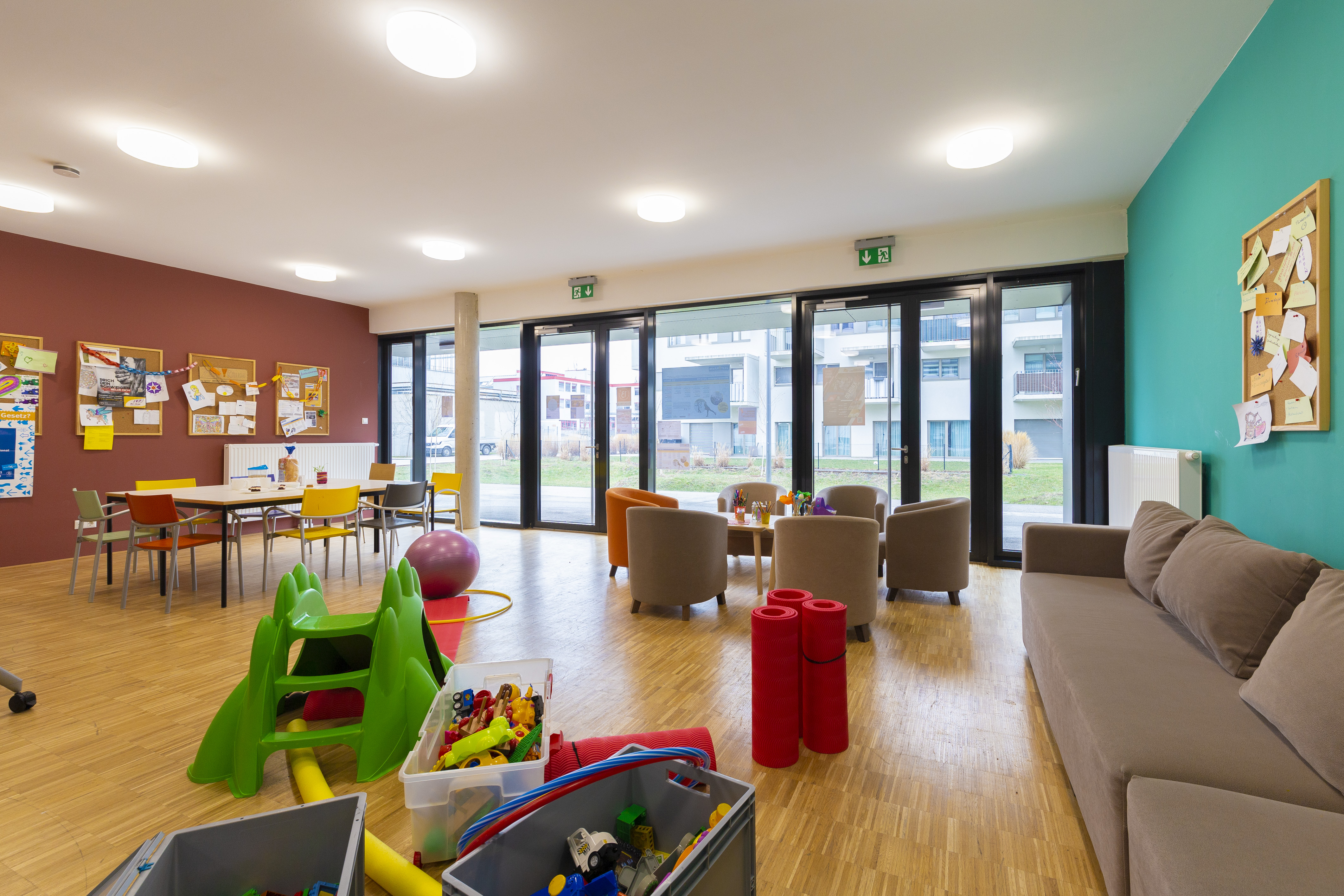 Ansicht Kinder- Jugendraum